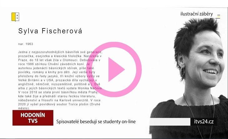 youtube.com - Spisovatelé do knihoven besedují se studenty - Sylva Fischerová