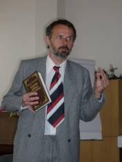 foto - Setkání se spisovatelem Andrejem  Štiavnickým