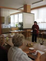 foto - Setkání seniorů - Čaj o třetí - září