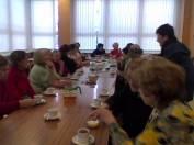 foto - Čaj o třetí - setkání seniorů - březen