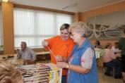 foto - Čaj o třetí - setkání seniorů - říjen
