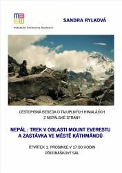 foto - Sandra Rylková - Nepál : trek v oblasti Mount Everestu a zastávka ve městě Káthmándú