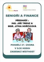 foto - Senioři a finance