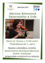 foto - Martina Bittnerová - Spisovatelky a Erós