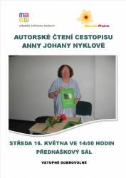 foto - Autorské čtení cestopisu Anny Johany Nyklové
