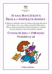 foto - Ivana Havlíčková -  Škola - postrach rodiny