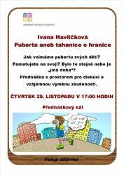 foto - Ivana Havlíčková - Puberta aneb tahanice o hranice