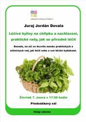 foto - Juraj Jordán Dovala - Léčivé byliny na chřipku a nachlazení - praktické rady, jak se přírodně léčit