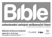 foto - Čtení z Bible