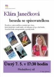 foto - Klára Janečková - Beseda se spisovatelkou