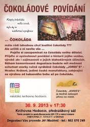 foto - Čokoládové povídání s Jiřím Maděričem