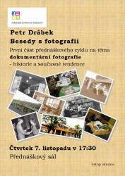 foto - Petr Drábek - Besedy s fotografií