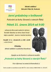 foto - Jarní prázdniny v knihovně - Putování za bohy Slovanů a starých Řeků