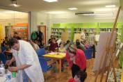 foto - Pojďme tvořit do knihovny aneb Noc s Cyrilem a Metodějem pro rodiče a děti II.