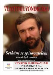 foto - Setkání se spisovatelem Vlastimil Vondruška