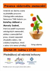 foto - Kateřina Gálková a Marcela Dudová - Prevence nádorových onemocnění