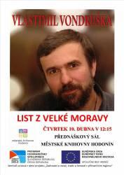 foto - List z Velké Moravy