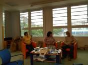 foto - Cizojazyčný konverzační piknik u knihovny