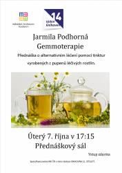 foto - Jarmila Podhorná - Gemmoterapie
