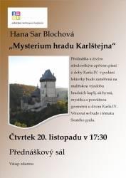 foto - Hana Sar Blochová - Mysterium hradu Karlštejna