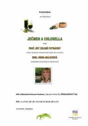foto - Ječmen a chlorella aneb proč jíst zelené potraviny