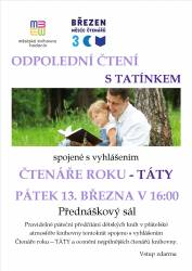 foto - Odpolední čtení s tatínkem