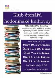 foto - Klub čtenářů hodonínské knihovny