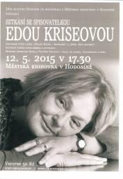 foto - Setkání se spisovatelkou Edou Kriseovou