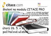 foto - Školení na modulu CITACE PRO