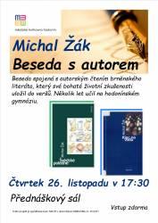 foto - Michal Žák - beseda s autorem