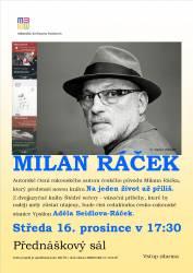 foto - Autorské čtení Milan Ráček