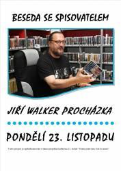 foto - Beseda se spisovatelem - Jiří Walker Procházka