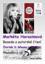 foto - Autorské čtení Markéty Harasimové