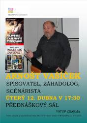 foto - Beseda s Arnoštem Vašíčkem