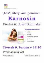 foto - Lék, který vám pomůže... Karnosin - Jozef Budinský