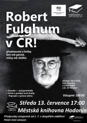 foto - LiStOVáNí - Robert Fulghum a Létající cirkus na turné po ČR