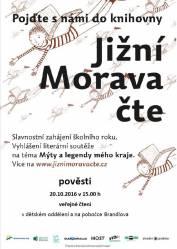 foto - Jižní Morava čte