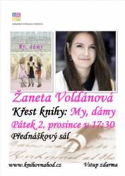 foto - Křest knihy Žanety Voldánové My dámy