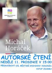 foto - Autorské čtení Michala Horáčka