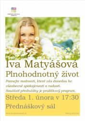 foto - Iva Matyášová - Plnohodnotný život
