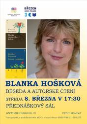 foto - Beseda se spisovatelkou Blankou Hoškovou