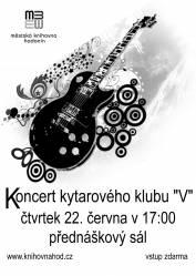 foto - Koncert kytarového klubu