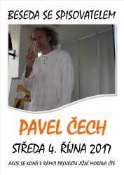 foto - Besedy se spisovatelem Pavlem Čechem