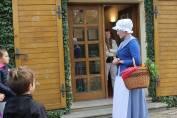 foto - Městem Hodonínem s babičkou a dědečkem