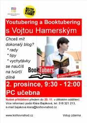 foto - Youtubering a booktubering s Vojtou Hamerským