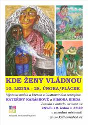 foto - Kateřina Karásková a Simon Bird - Kde vládnou ženy