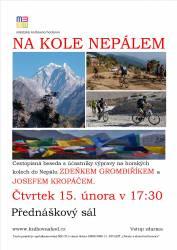 foto - Na kole Nepálem
