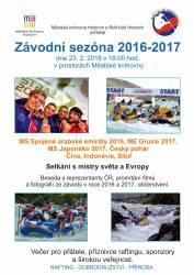 foto - Závodní sezóna 2016-2017