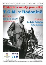 foto - Historie a osudy pomníku T. G. M. v Hodoníně