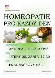 foto - Andrea Forgácsová – Homeopatie pro každý den